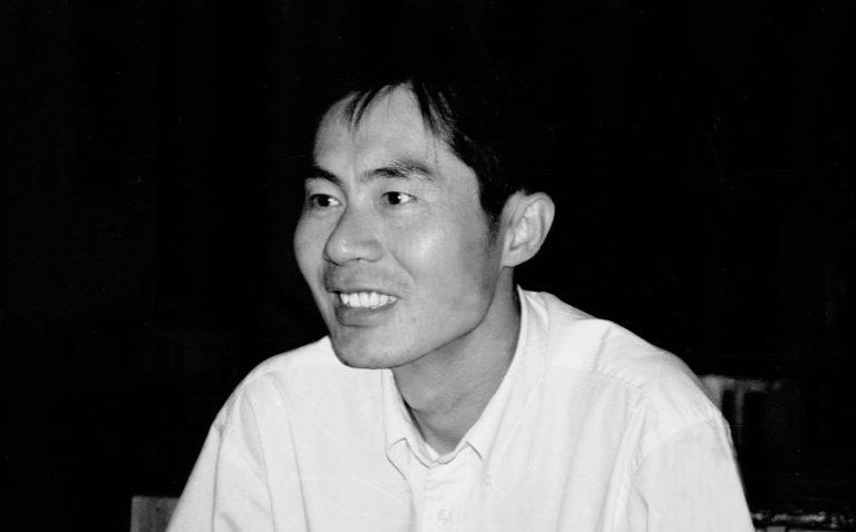 章明,《巫山云雨》(1995)导演,北京电影学院公寓内,北京,1999