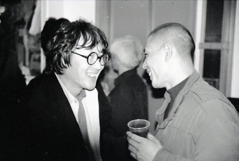 徐冰和张洹,纽约,2000