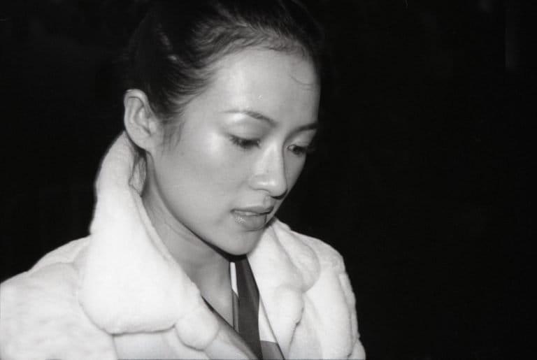 章子怡,中国最成功的女演员之一,曾出演过张艺谋的商业电影和王家卫的艺术电影,纽约,2005年