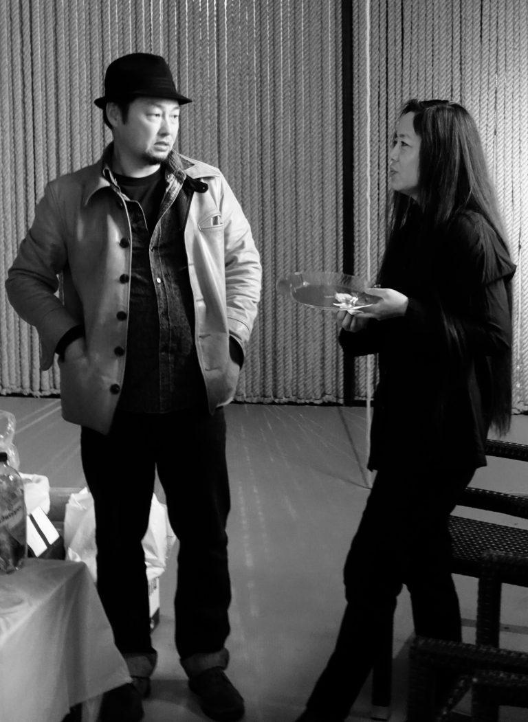 赵大勇与彭筱剑(Norman的妻子),导演作品包括《废城》(2008),《鬼日子》(2014),纽约, 2018