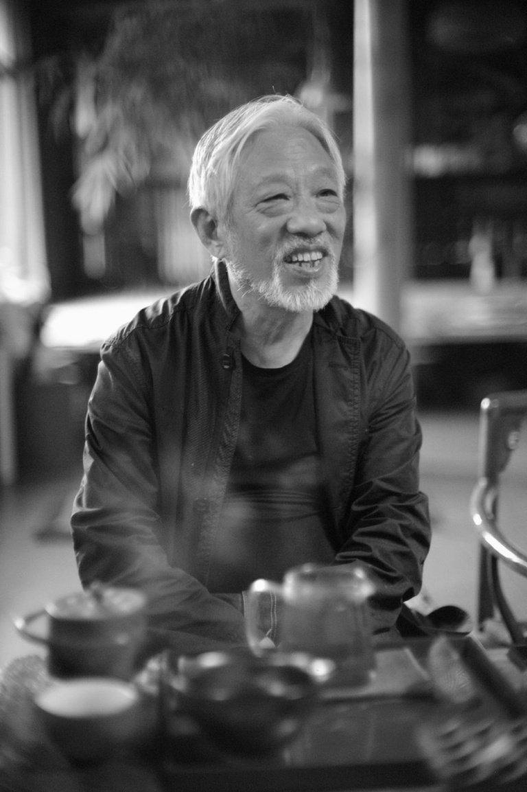 栗宪庭,公共知识分子、艺术批评家、栗宪庭电影基金创办人,宋庄,北京, 2015