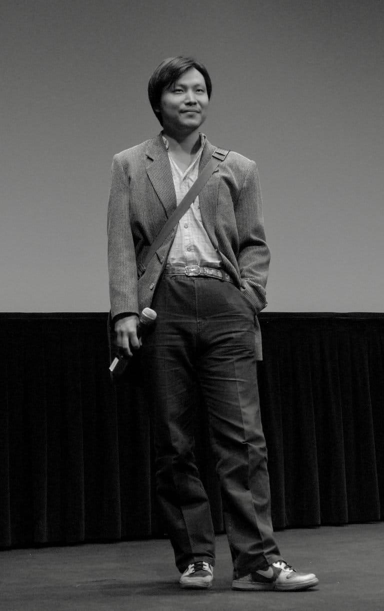 应亮,《背鸭子的男孩》(2005)和《另一半》(2006)导演,林肯中心,纽约,2009