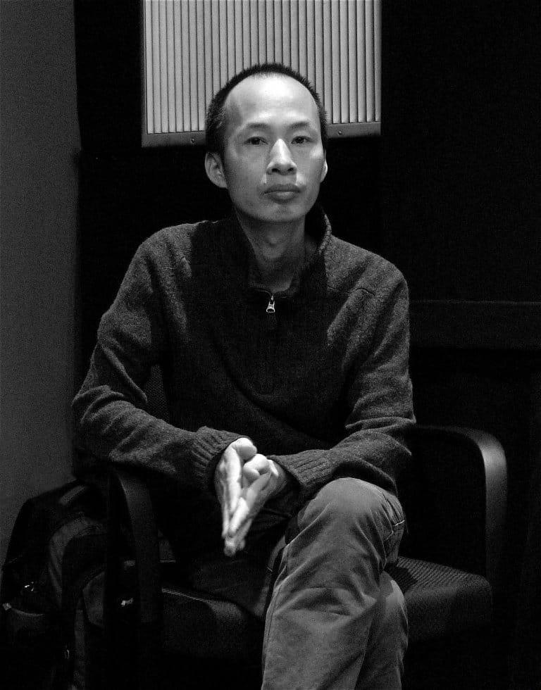朱日坤,纪录片导演、现象艺术中心创办人、中国纪录片交流周与北京独立影像展策展人,纽约,2008