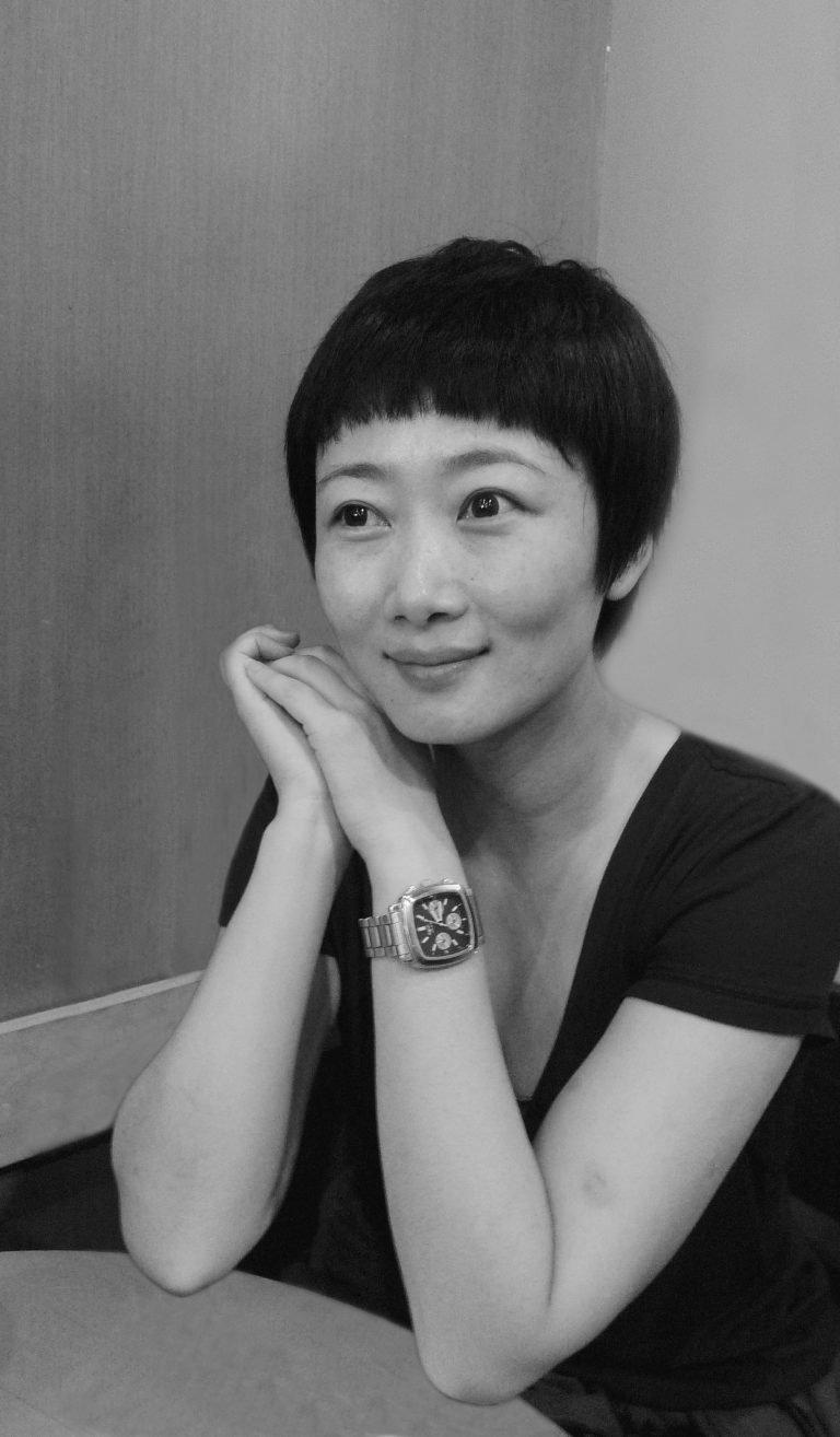 赵涛,贾樟柯电影女主角,咖啡厅,上海,2007