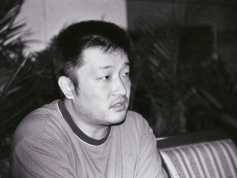 王小帅 《扁担姑娘》(1998)导演,酒吧,北京,2002