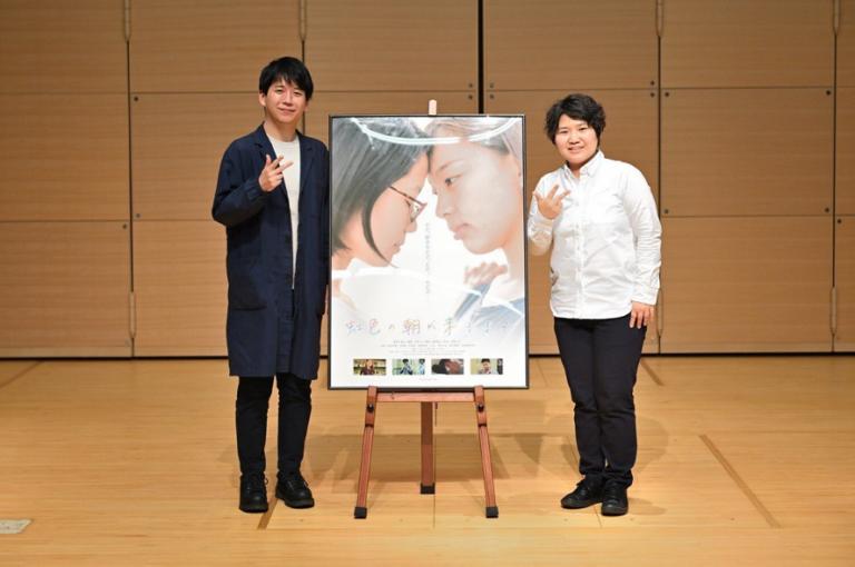 Dr Yutaka Kubo (left) and director Mika Imai (right)